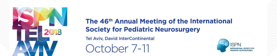 382a7b26e3 46th Annual Meeting of International Society for Paediatric Neurosurgery  (ISPN 2018)